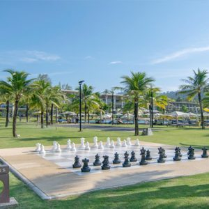 Thailand Honeymoon Packages The Sands Khao Lak By Katathani Giant Chess