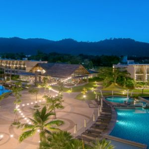 Thailand Honeymoon Packages The Sands Khao Lak By Katathani Hotel Overview At Night