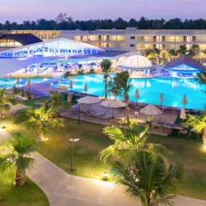 Thailand Honeymoon Packages The Sands Khao Lak By Katathani Pool At Night