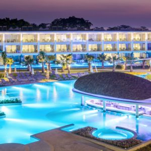 Thailand Honeymoon Packages The Sands Khao Lak By Katathani Pool At Night1