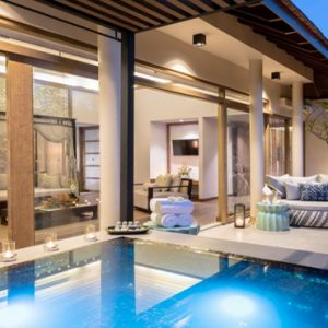 Thailand Honeymoon Packages The Sarojin Khao Lak Jacuzzi Pool Suite