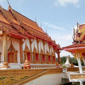 Thailand Honeymoon Packages The Sarojin Khao Lak Temple