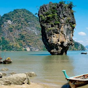 Thailand Honeymoon Packages The Sarojin Khao Lak Location