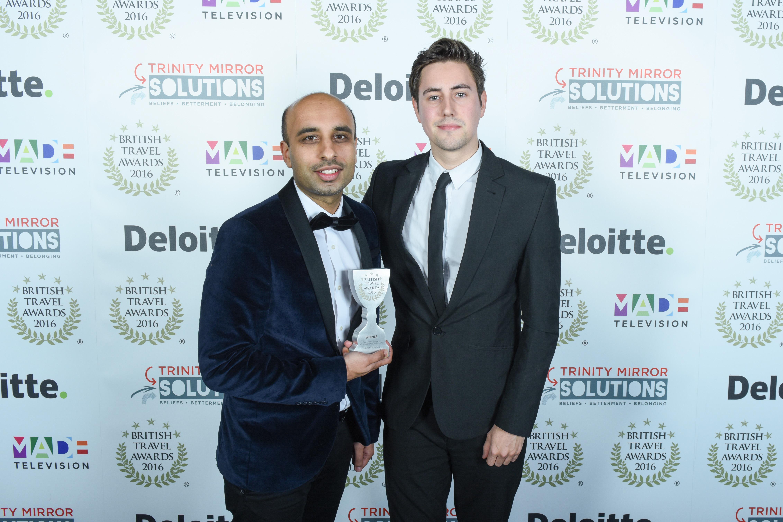 British Travel Awards 2106. Evolution Battersea. London.
