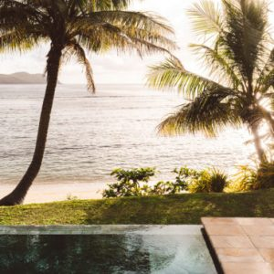 Fiji Honeymoon Packages Tokoriki Island Resort 10 Beachfront Pool Villa