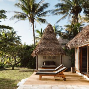 Fiji Honeymoon Packages Tokoriki Island Resort 10 Beachfront Pool Villa Exterior
