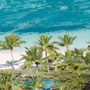 Fiji Honeymoon Packages Tokoriki Island Resort Aerial View