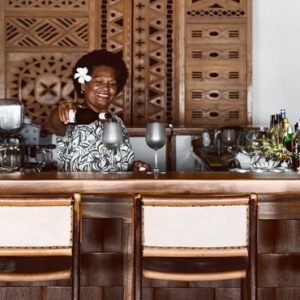 Fiji Honeymoon Packages Tokoriki Island Resort Bar Tender
