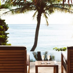 Fiji Honeymoon Packages Tokoriki Island Resort Deckchairs By The Pool