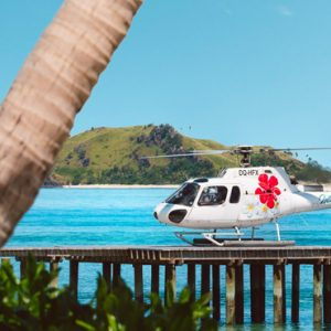 Fiji Honeymoon Packages Tokoriki Island Resort Helicopter