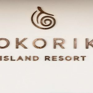 Fiji Honeymoon Packages Tokoriki Island Resort Hotel Sign