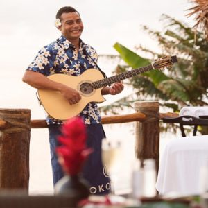 Fiji Honeymoon Packages Tokoriki Island Resort Spa And Music Player