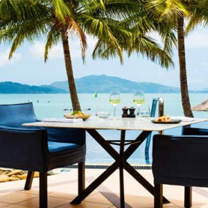 Beach Club Hamilton Islands - Australia Honeymoon Packages - restaurant