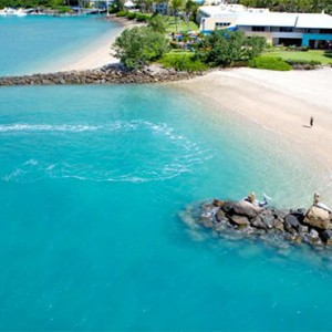 Daydream Island Resort & Spa - Australia Honeymoon Packages - aerial view