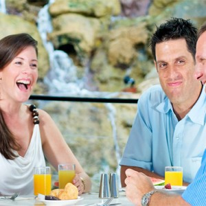 Daydream Island Resort & Spa - Australia Honeymoon Packages - waterfall restaurant