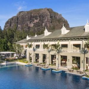Exterior Pool - St Regis Mauritius - Luxury Mauritius Honeymoon Packages