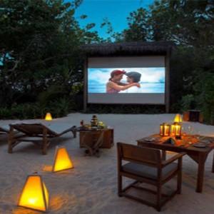 Gili Lankanfushi - Maldives Honeymoon Packages - Jungle cinema
