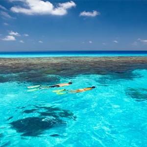 Gili Lankanfushi - Maldives Honeymoon Packages - Snorkelling