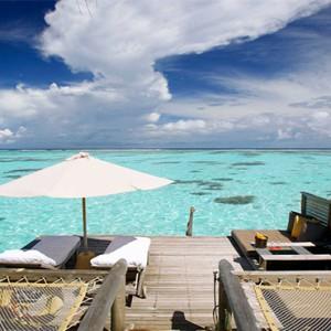 Gili Lankanfushi - Maldives Honeymoon Packages - Villa Suite deck