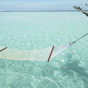 Gili Lankanfushi - Maldives Honeymoon Packages - hammock beach