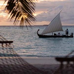 Gili Lankanfushi - Maldives Honeymoon Packages - sunset cruise