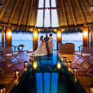 Gili Lankanfushi - Maldives Honeymoon Packages - wedding