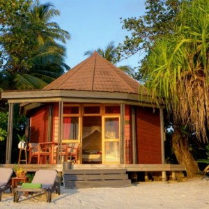 Komandoo Island Resort - Maldives honeymoon packages - Beach villa exterior