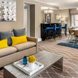 New York Honeymoon Packages The Lexington Hotel New York Arthur Godfrey Suite 4