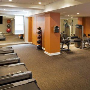 New York Honeymoon Packages The Lexington Hotel New York Gym 2