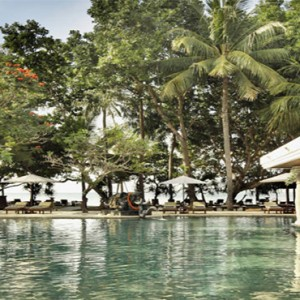 Puri Santrian - Bali Honeymoon Packages - Pool