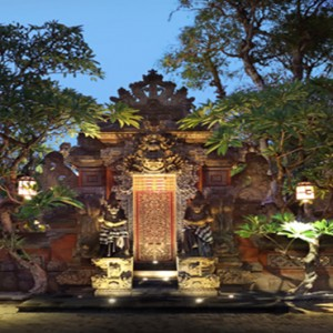 Puri Santrian - Bali Honeymoon Packages - entrance
