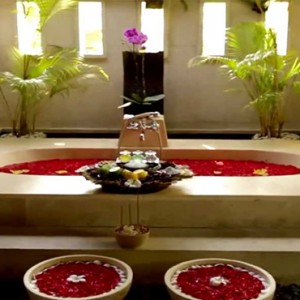 Puri Santrian - Bali Honeymoon Packages - spa