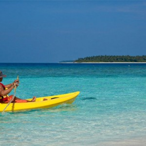 Reethi Beach Resort - Maldives Honeymoon Packages - Canoe Riding