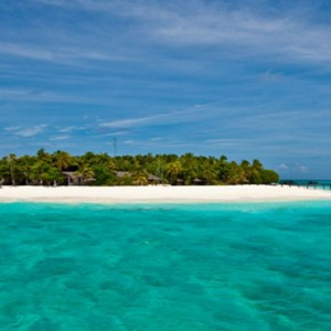 Reethi Beach Resort - Maldives Honeymoon Packages - Island view