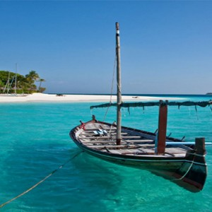Reethi Beach Resort - Maldives Honeymoon Packages - Island view1