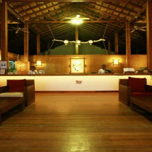 Reethi Beach Resort - Maldives Honeymoon Packages - Reception