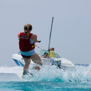 Reethi Beach Resort - Maldives Honeymoon Packages - Wakeboarding