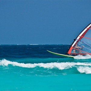 Reethi Beach Resort - Maldives Honeymoon Packages - Windsurfing1