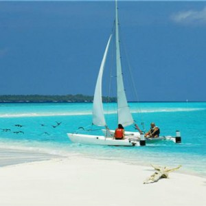 Reethi Beach Resort - Maldives Honeymoon Packages - yacht
