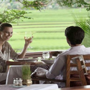 The Ubud Village Resort & Spa - Bali Honeymoon Packages - Angkul Angkul Restaurant