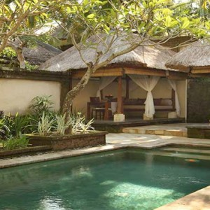 The Ubud Village Resort & Spa - Bali Honeymoon Packages - Garden pool villa pool