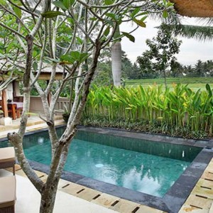 The Ubud Village Resort & Spa - Bali Honeymoon Packages - Village Suite Villa pool