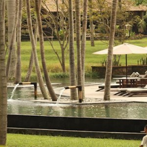 The Ubud Village Resort & Spa - Bali Honeymoon Packages - far view of pool