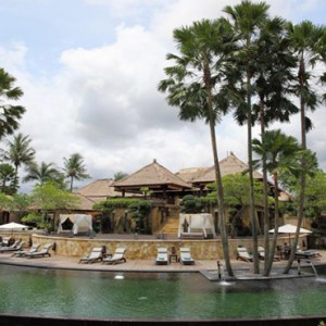 The Ubud Village Resort & Spa - Bali Honeymoon Packages - hotel pool exterior