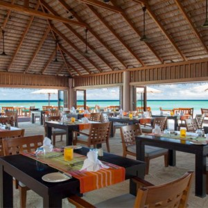 Veligandu Island Resort & Spa - Maldives Honeymoon Packages - Dhonveli Restaurant