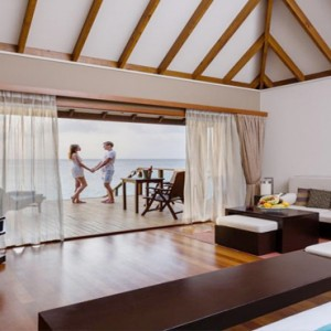 Veligandu Island Resort & Spa - Maldives Honeymoon Packages - Jacuzzi water villa