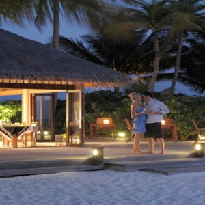 Veligandu Island Resort & Spa - Maldives Honeymoon Packages - The Madivaru Restaurant
