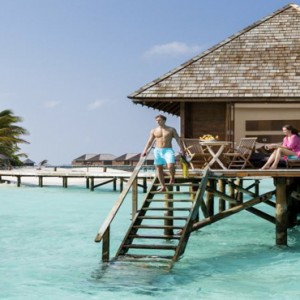 Veligandu Island Resort & Spa - Maldives Honeymoon Packages - Water villa exterior