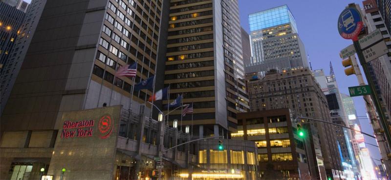 Sheraton New York Times Square New York Honeymoon