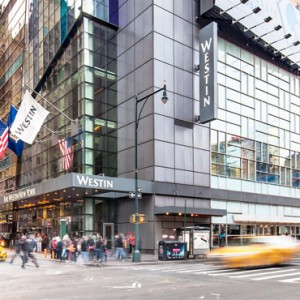 Exterior Westin Times Square New York Luxury New York Holiday Packages